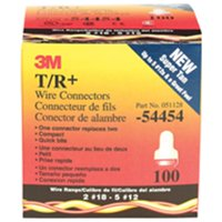 3M T/R+BOX Twist On Wire Connector,18-12 AWG,PK100