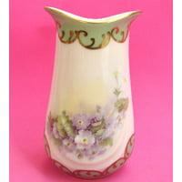 Lucky Bamboo Porcelain Vase
