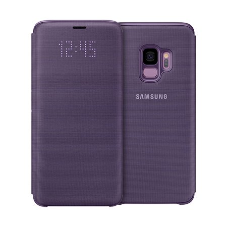 cheap for discount 5f4d7 2f72e Samsung LED Wallet Cover for Samsung Galaxy S9 - Violet