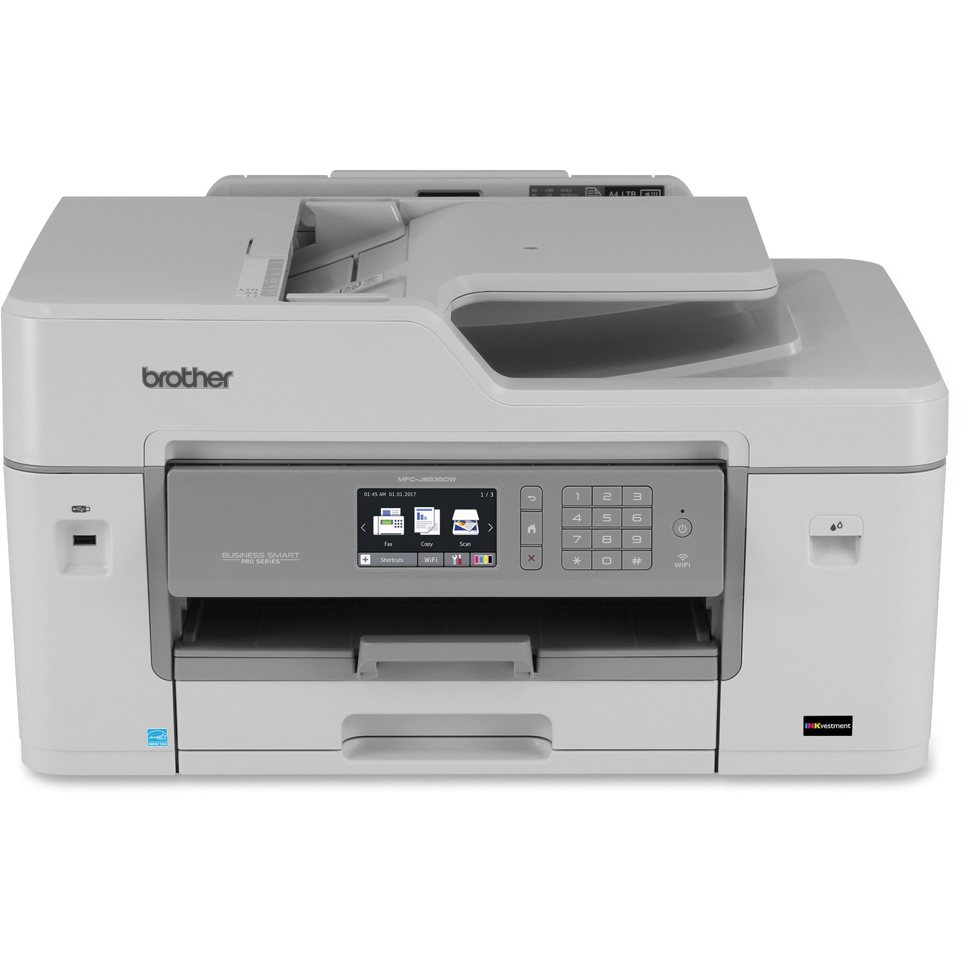 Brother Business Smart Pro MFC-J6535DW Multifunction Printer - Color - Inkjet - Duplex