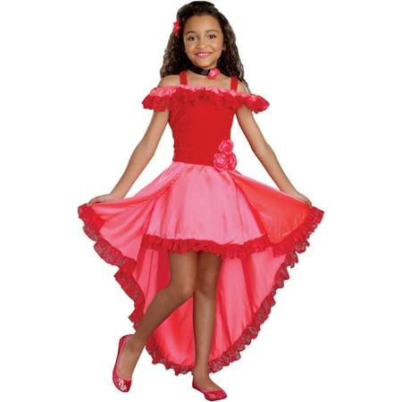 Lil' Senorita Girls' Toddler Halloween Costume, Small
