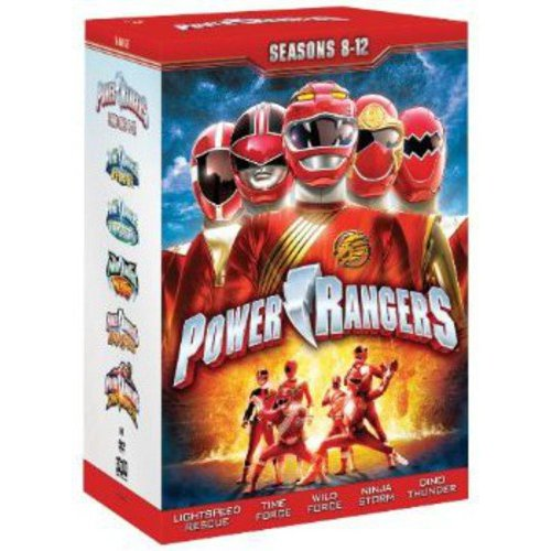 Power Rangers: Seasons 8-12 (Full Frame)
