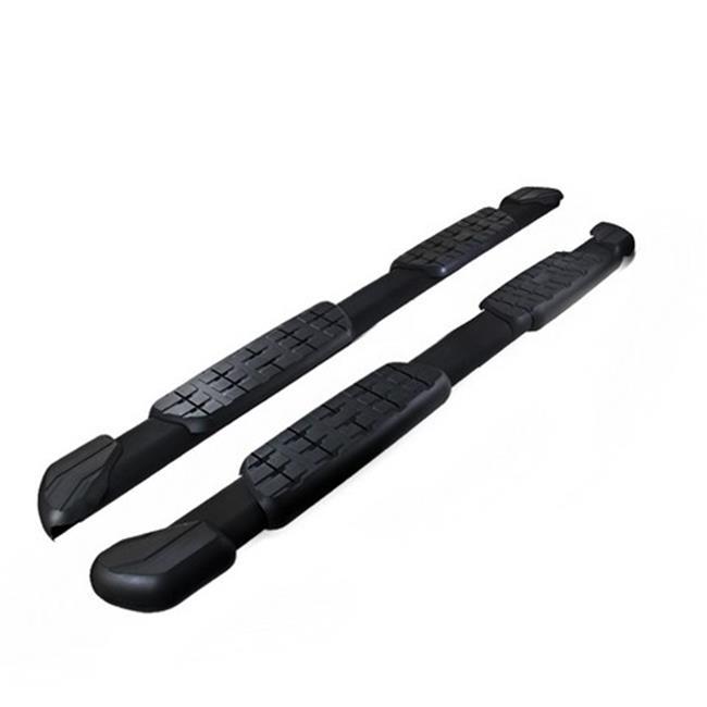 Spec-D Tuning SSBOE-TUN07DCBK-HK 5 in. Side Step Bars for...