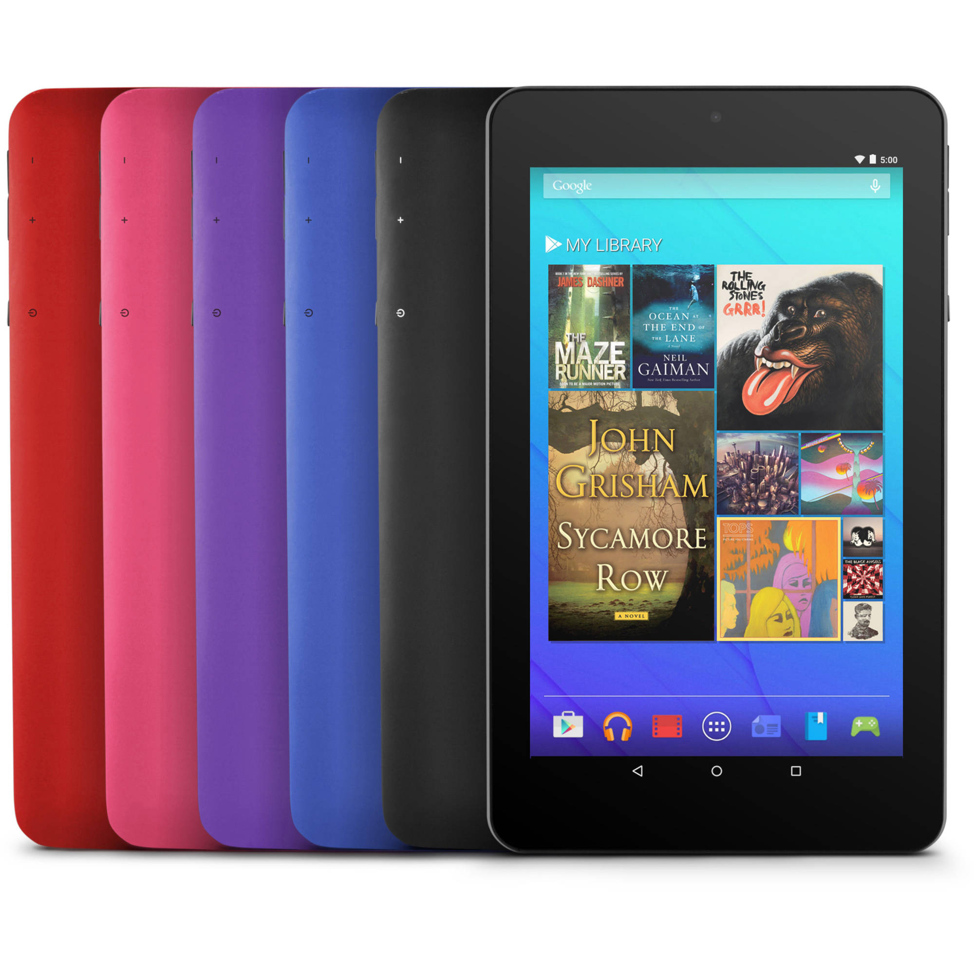 """7"""" 8GB Android 5.0 Black"""