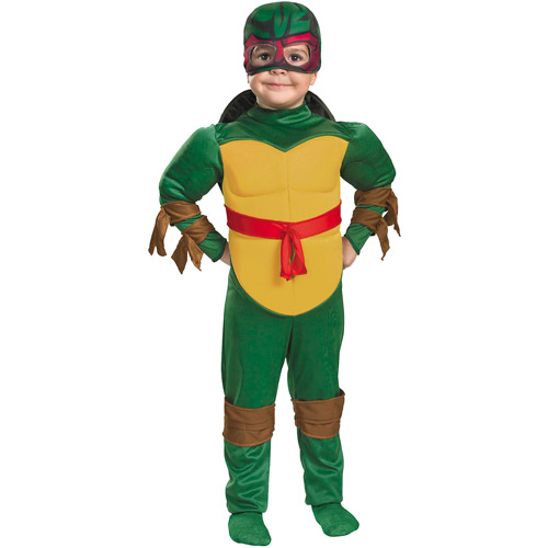 Teenage Mutant Ninja Turtles Raphael Muscle Toddler Halloween Costume
