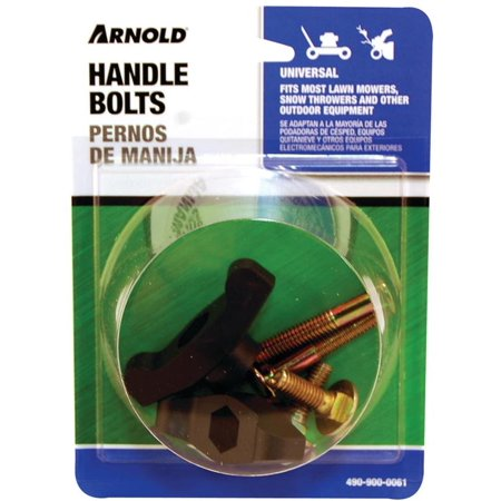 Arnold 490-900-0061 T-Handle Knob and Bolt, For Use With Most Lawnmowers, 0.27 in Diameter