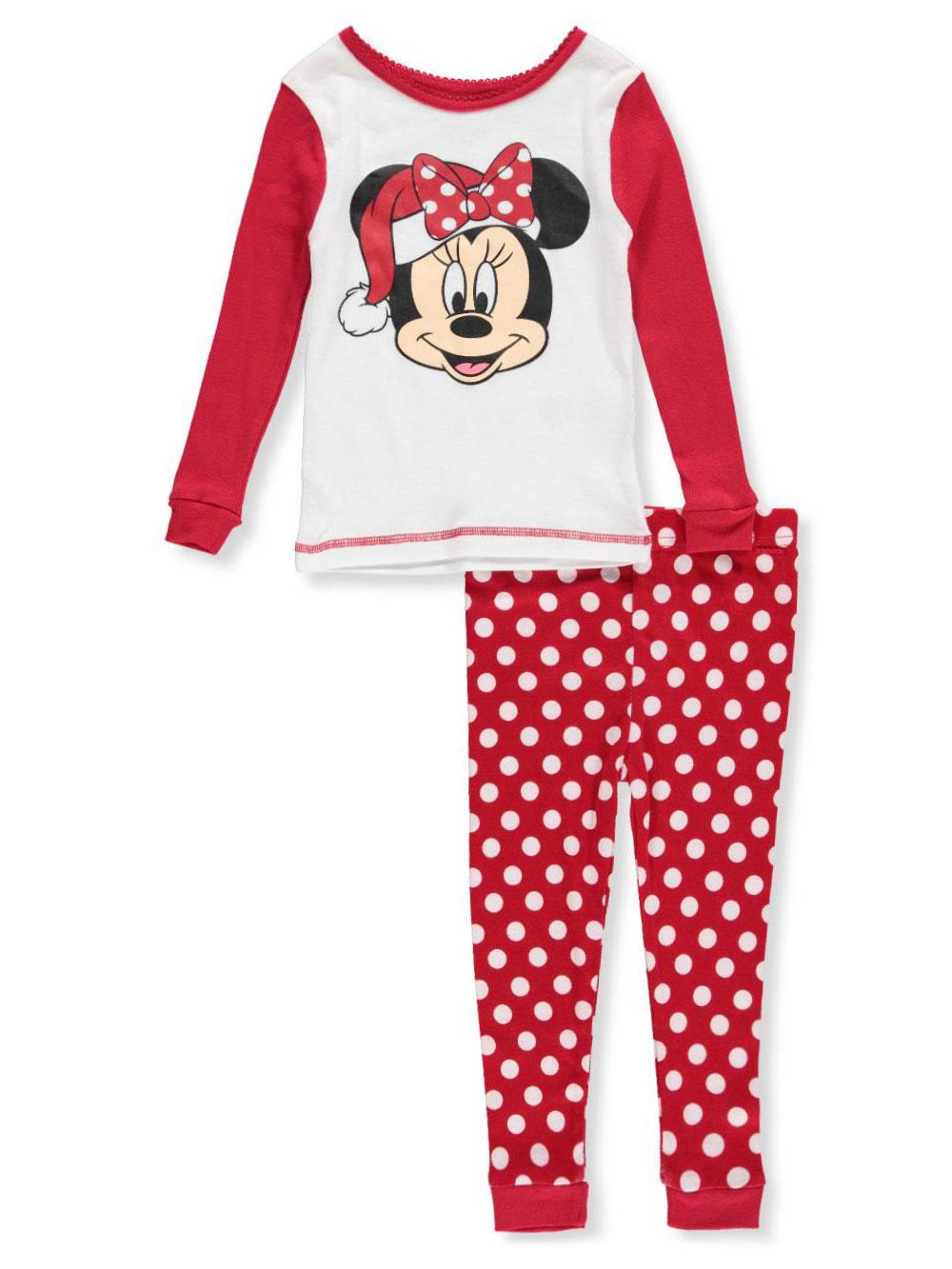 Disney Girls' Minnie Mouse 2-Piece Pajamas