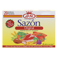 La Fe Sazon Seasoning, 3.52 oz