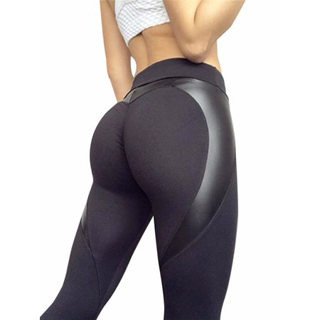 FITTOO Activewear Wreathe Sexy Yoga Pants - Womens Splice Skinny Workout Leggings - Running Gym Stretch Sports Pants Sports Women Pants