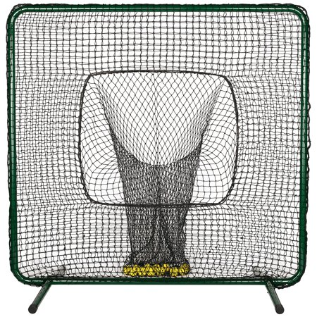 ATEC Protective Batting Practice Screen with Ball Sock