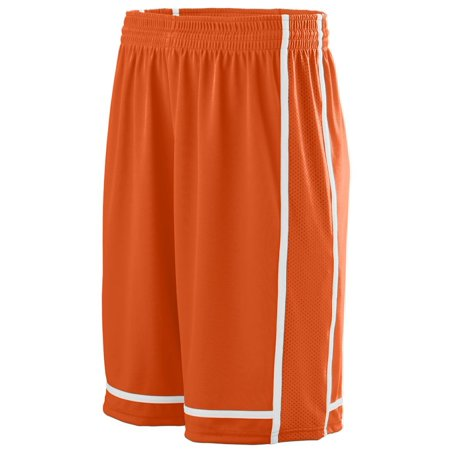 Augusta Sportswear 1185 Athletic Wear Shorts Wicking Polyester with Mesh Inserts Men's (Augusta Sportswear Mesh Shorts)