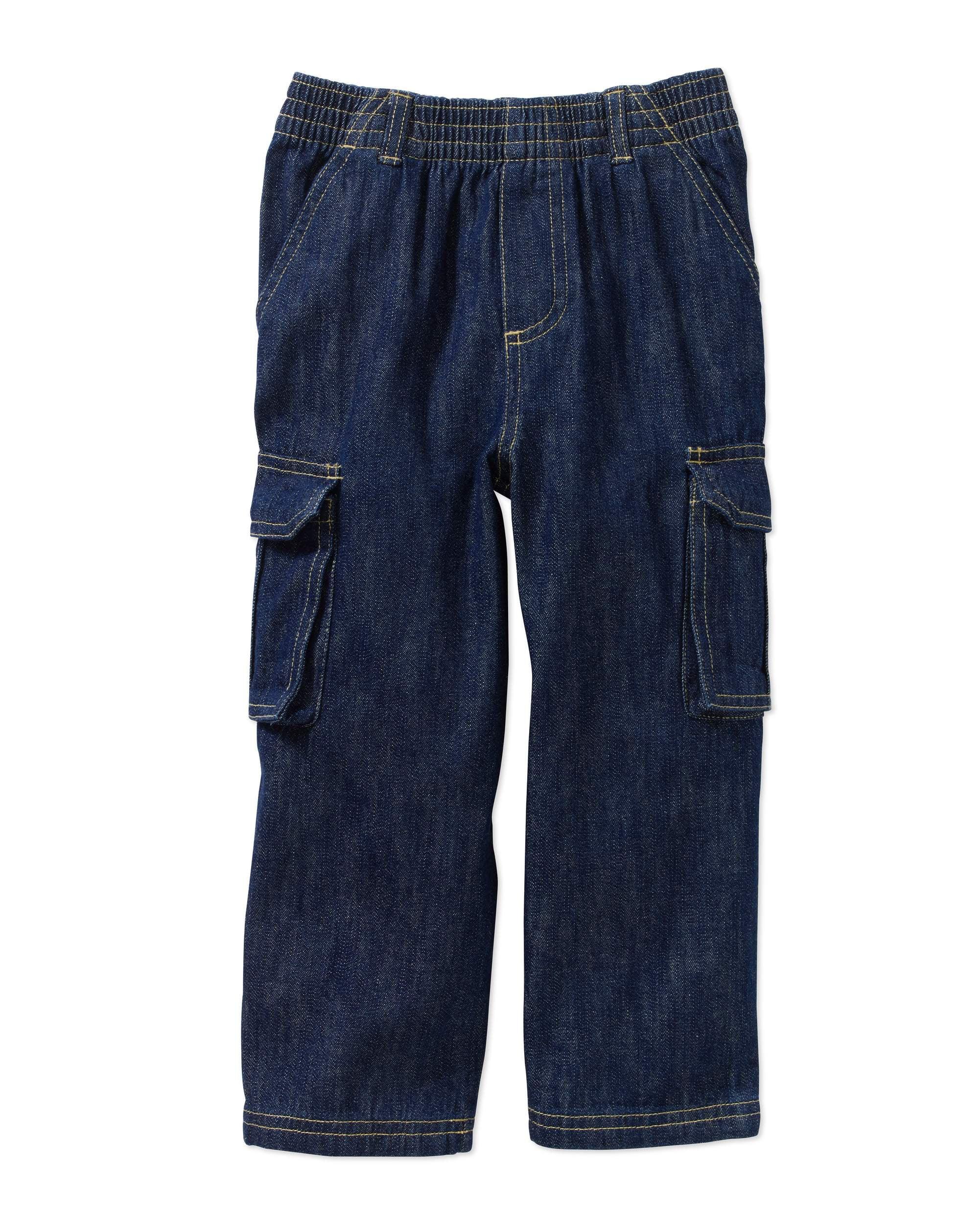 Baby Toddler Boy Denim Cargo Pants