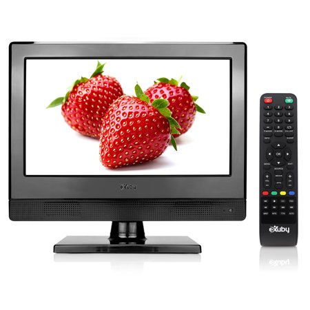 Small TV - Perfect Kitchen TV - 13.3 inch LED TV - Watch HDTV Anywhere - For Kitchen tv, RV tv, Office tv & more - FREE HD Local Channels - Small HD TV - USB, HDMI, RCA, RF & more