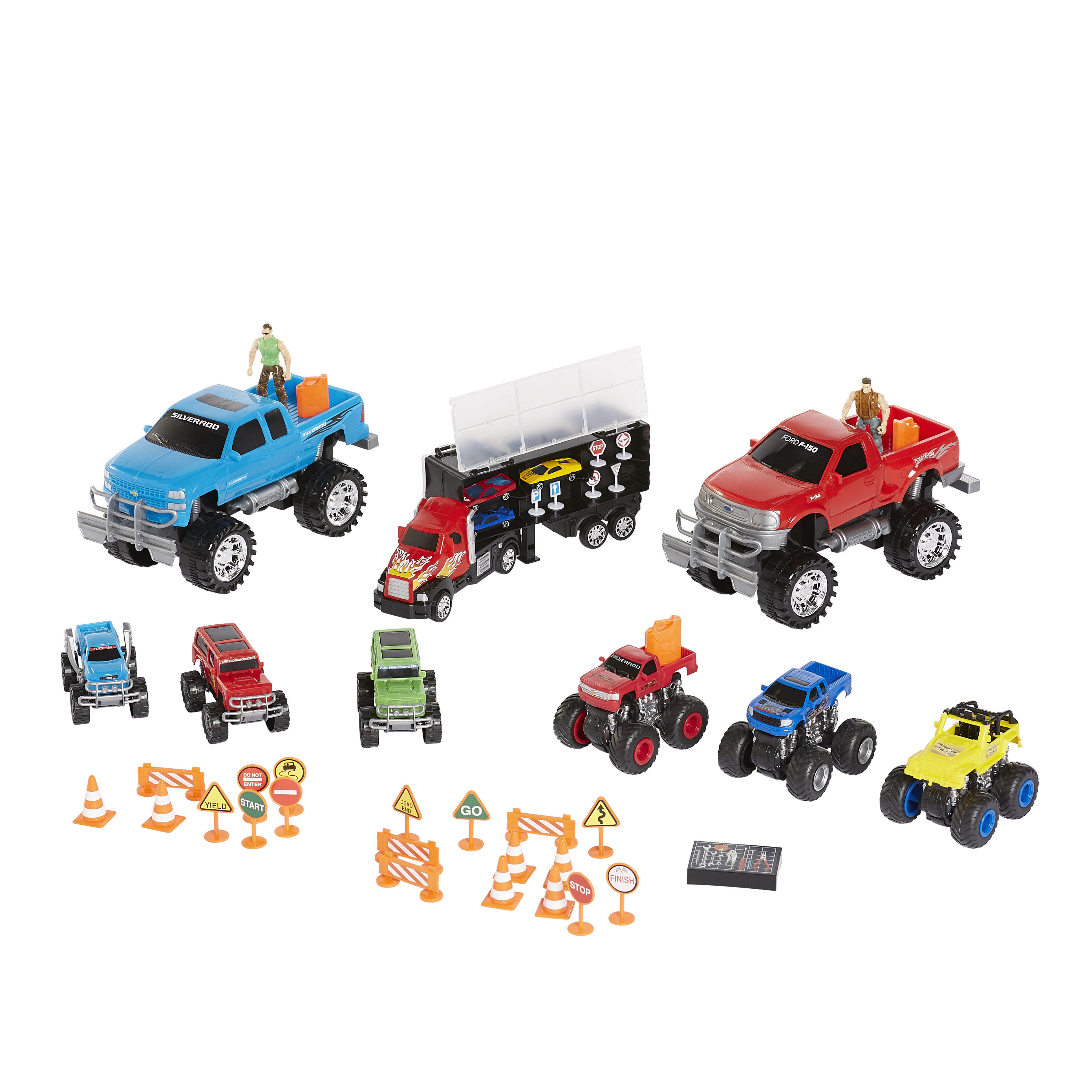 Kid Connection Jumbo Monster Truck Play Set