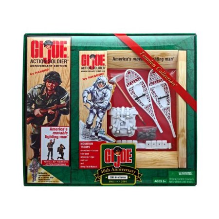 """gi joe anniversary edition mountain troops 12 action soldier figure"""" [toy]"""