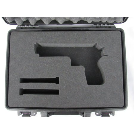 Pelican Case 1470 w/ Custom Foam Insert for Desert Eagle Handgun (Case & (Best Handgun For 500)