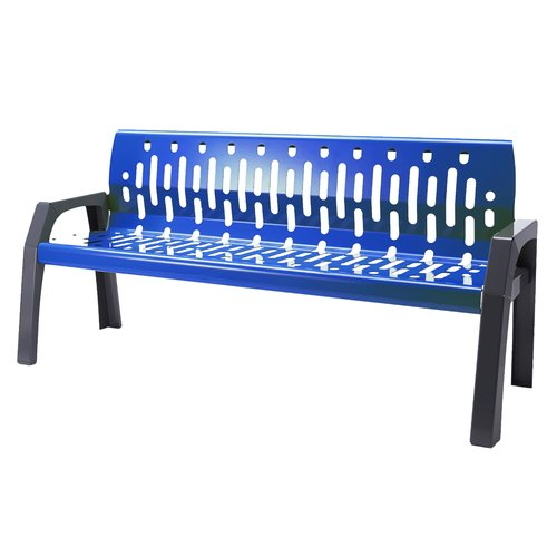Frost Products Stream Steel Park Bench by Frost Products
