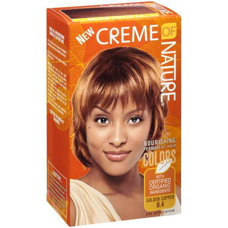 Creme Of Nature Hair Color Golden Copper