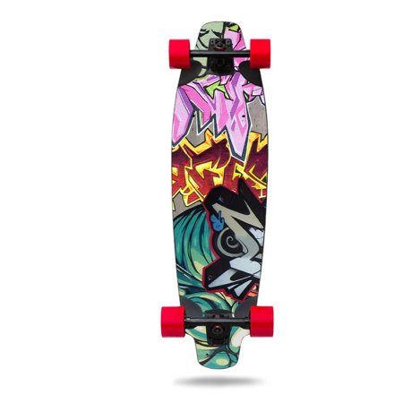 MightySkins Skin Decal Wrap Compatible with Inboard Sticker Protective Cover 100's of Color (Best Blind Skateboards)