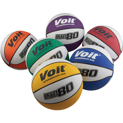 Voit Lite 80 Basketball Intermediate 6-Piece Prism Pack