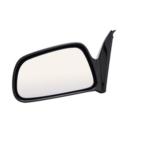 For Mitsubishi Galant Black Manual Remote Replacement Driver Side Mirror (MB3349410-5L00) Black Driver Side Replacement