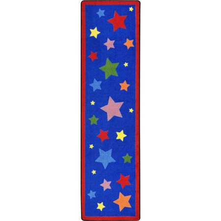 2 ft. 1 in. x 7 ft. 8 in. Reading Superstars Kid Essentials Runner Rug, Multicolor (Super Runners Shop Coupon)