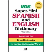 Vox Super-Mini Spanish and English Dictionary, 3rd Edition - eBook