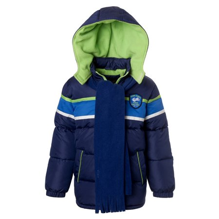 Ixtreme Ixtreme Boys Hooded Winter Puffer Bubble Jacket