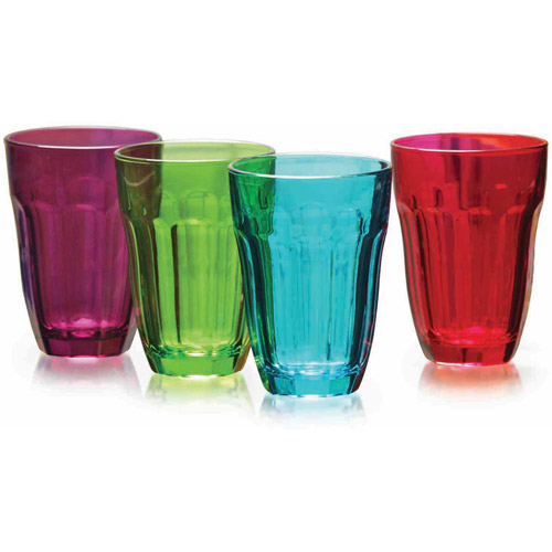Circleware Overture 4-Piece 7.75-Ounce Juice Glass Set
