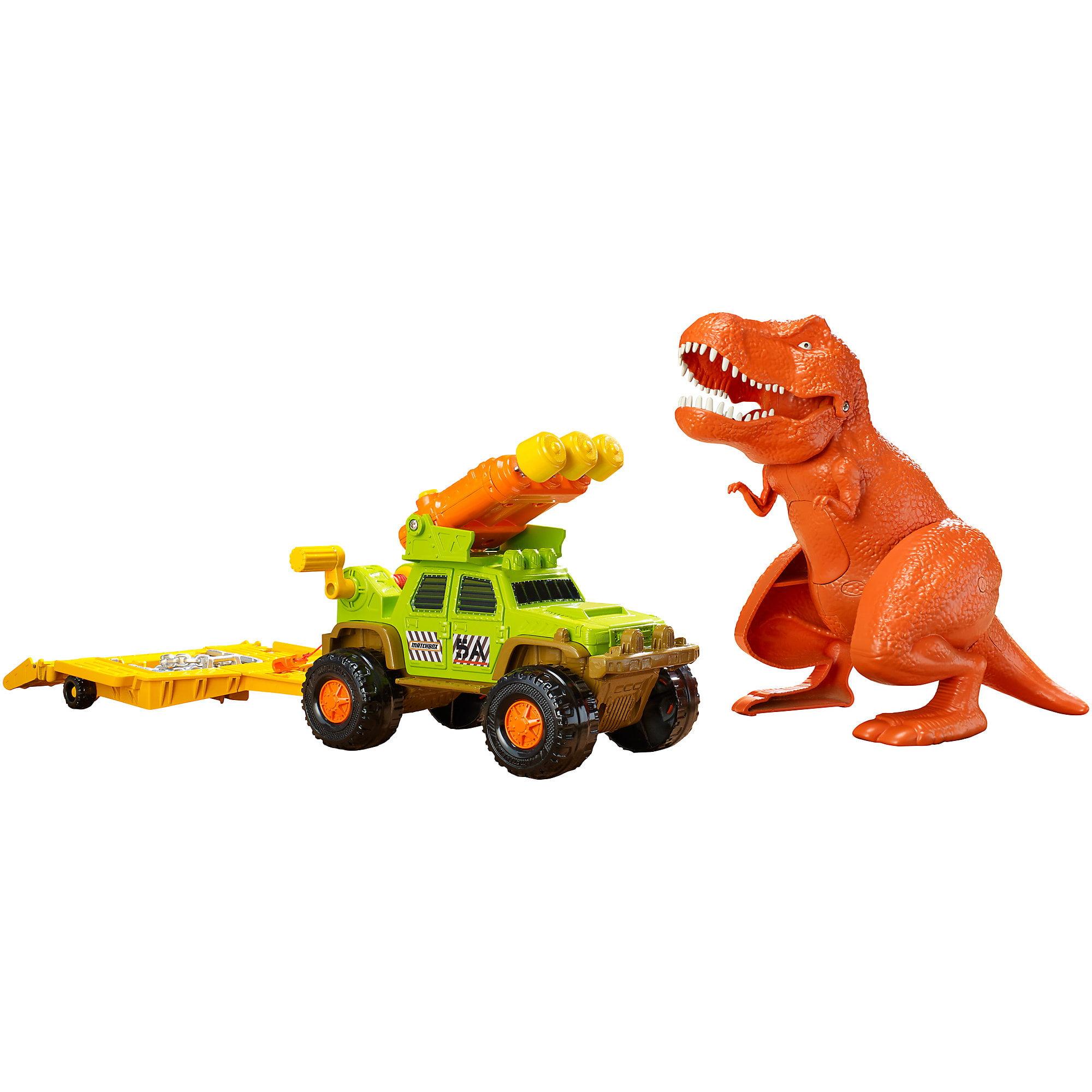 Matchbox Dino Trapper Trailer by Mattel