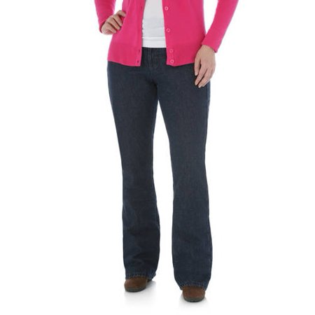 c97555c7 Lee Riders - Women's Mid Rise Bootcut Fleece Lined Jean - Walmart.com
