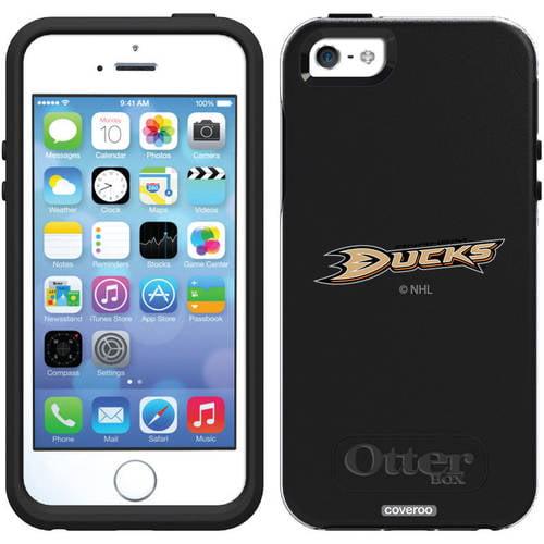 Anaheim Ducks Primary Logo Design on OtterBox Symmetry Series Case for Apple iPhone 5/5s