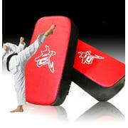 Boxing Training Pad, MMA Rectangle Focus Leather Adult Boxing Shield Punching Target Pro Muay Thai Kick Pad