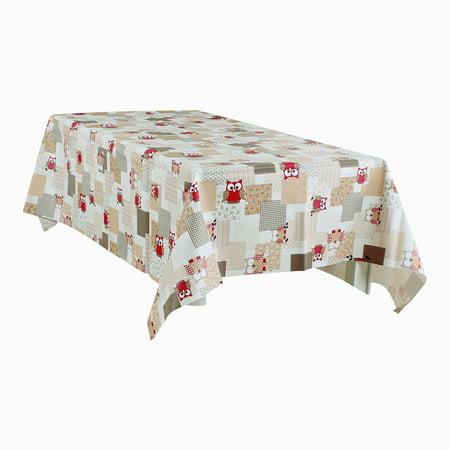 "Tablecloth PVC Rectangle Table Cover Oil Resistant Table Cloth 54"" x 71"", #4 - image 7 de 7"