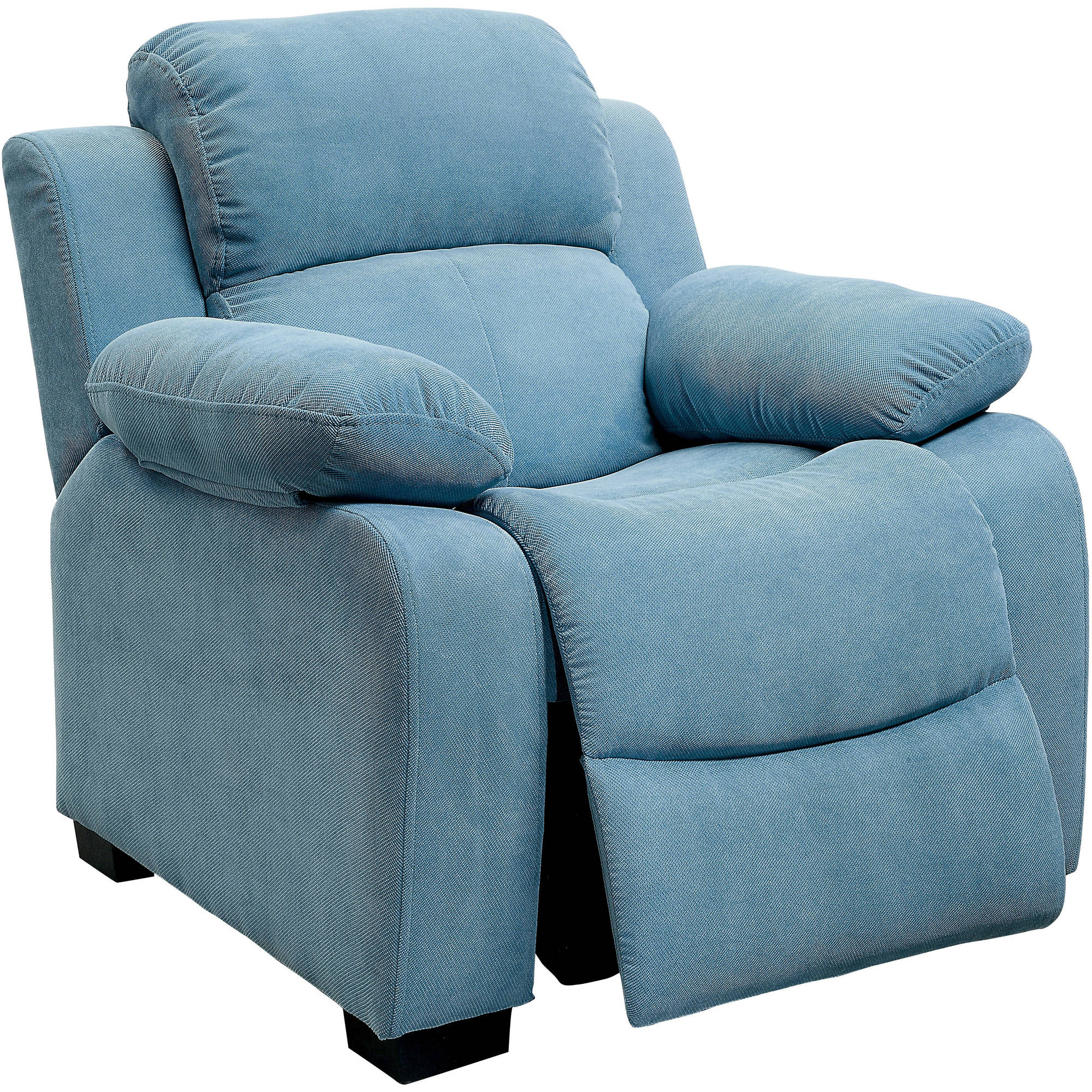 Furniture of America Luba Kids Fabric Recliner, Multiple Colors