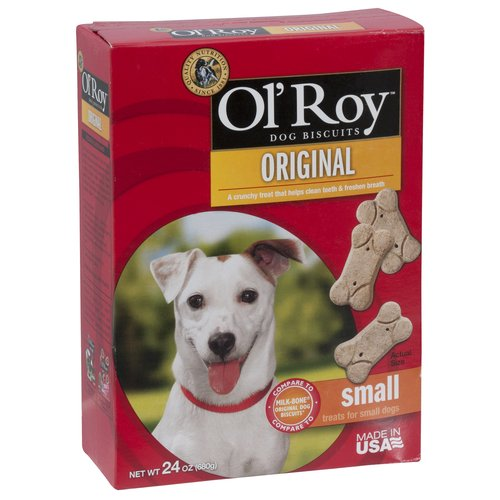 Ol' Roy Original Flavor Small Breed Dog Treats, 24 Oz