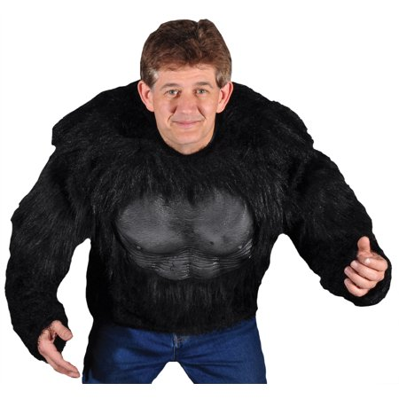 Gorilla Shirt Adult Halloween Costume - One Size