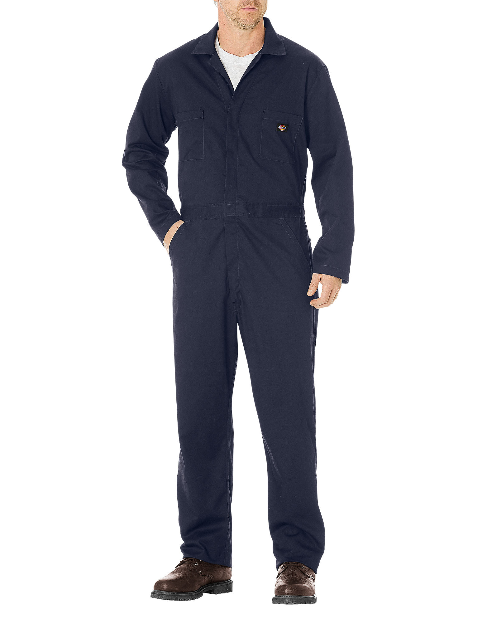 Dickies Mens Basic Cotton Coverall, Dark Navy 3X TL by Dickies