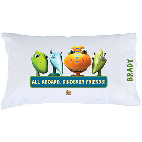 Personalized Dinosaur Train Friends Pillowcase