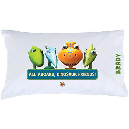 Personalized Dinosaur Train Friends Pillowcase
