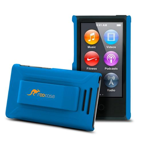 iPod Nano 7 Case - roocase Ultra Slim Fit (Blue) Shell Case Cover for Apple iPod Nano 7 (7th Generation)