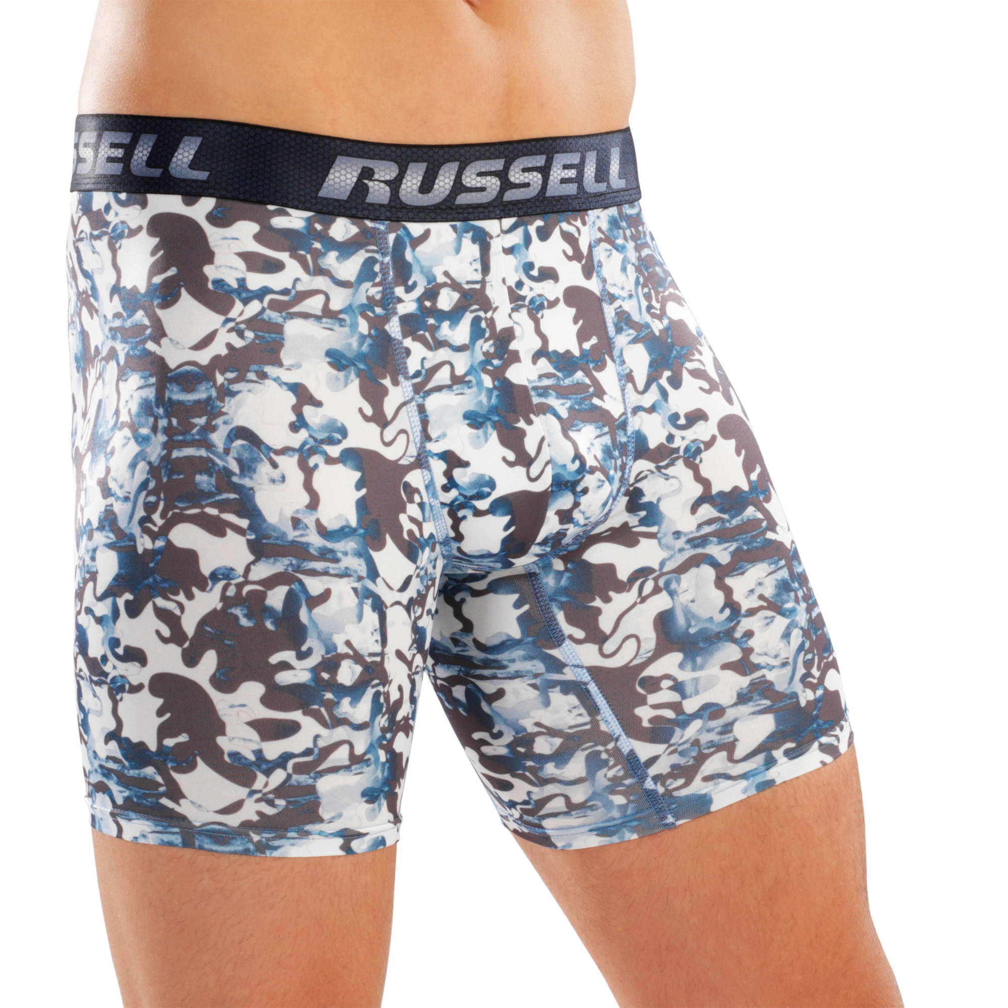 Russell Voltage Men's Performance Boxer Brief