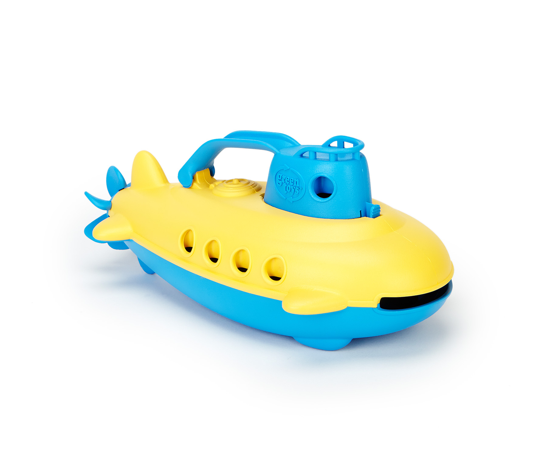 Green Toys Submarine Bath Toy, Blue Cabin by Green Toys