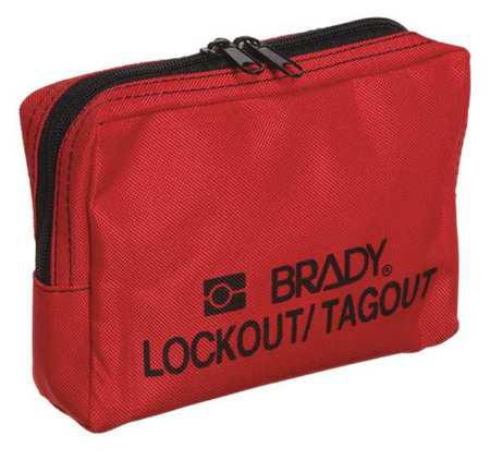 Lockout Pouch,Unfilled,Nylon BRADY 51172