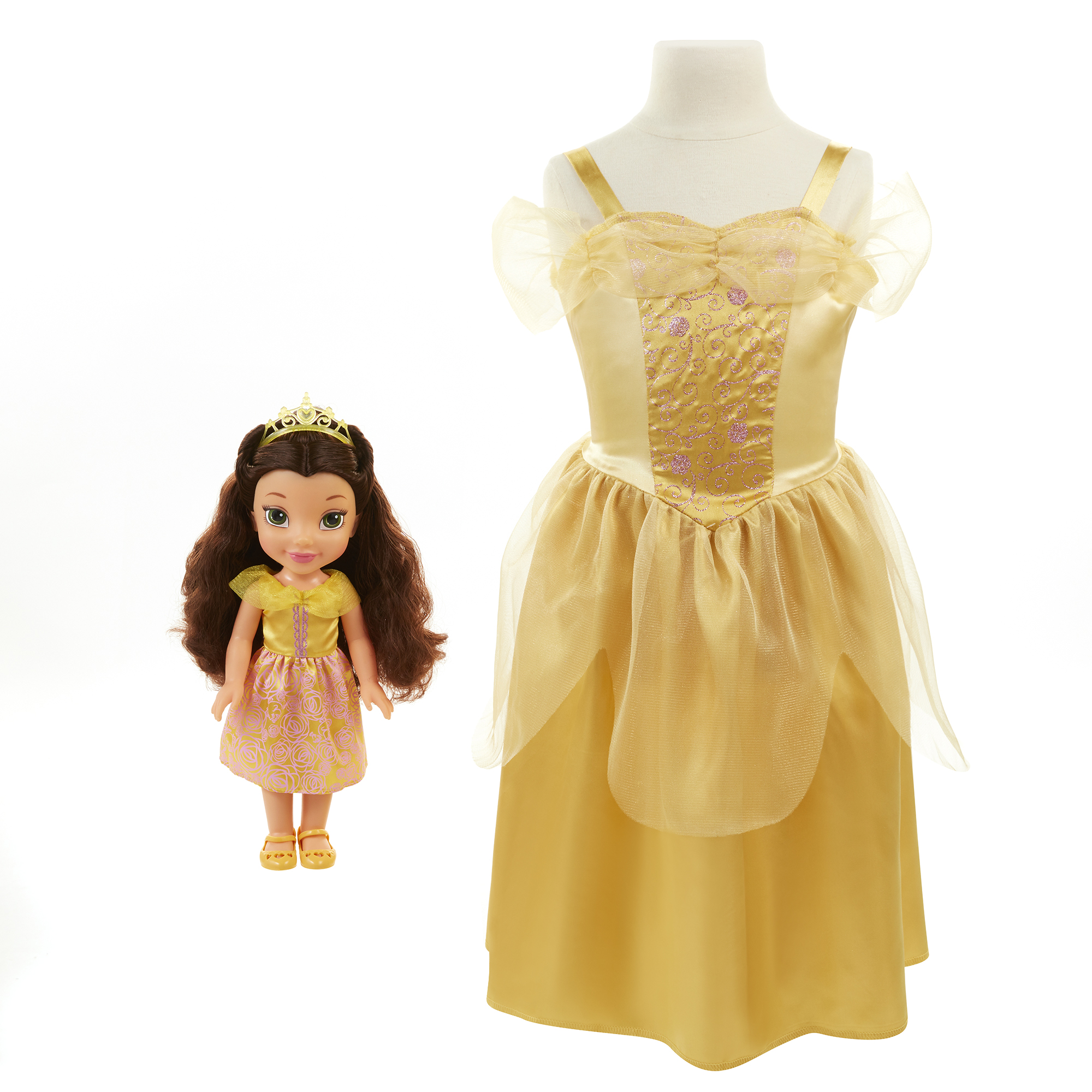 Disney Princess Toddler Doll With Dress: Disney Princess Belle Toddler Doll And Dress