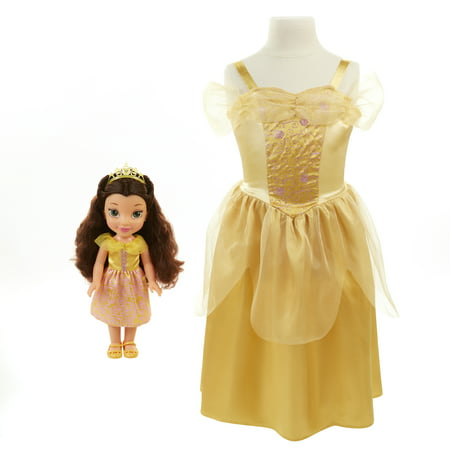 Disney Princess Belle Toddler Doll and Dress (Disney Bell Dress)