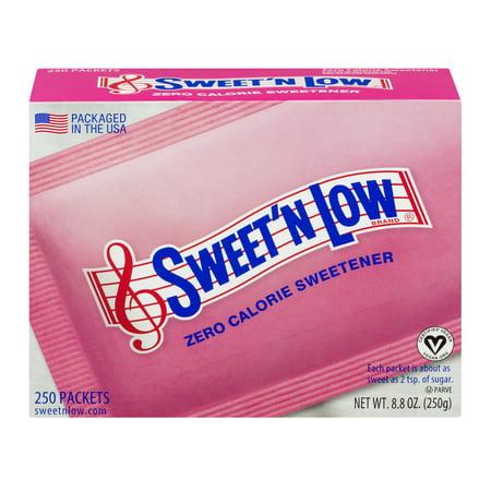 (Sweet'N Low Zero Calorie Sweetener, 250 count, 8.8 oz)
