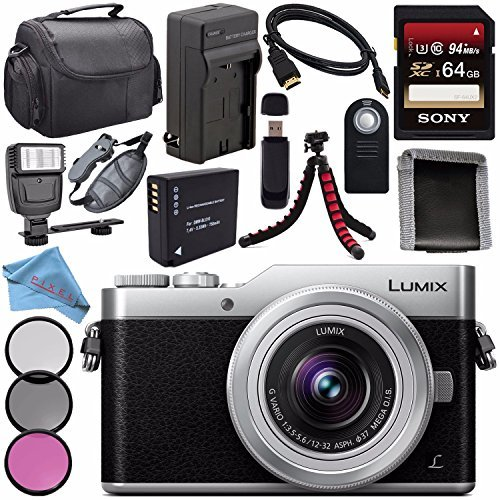 Panasonic Lumix DC-GX850 Micro Four Thirds Mirrorless Cam...