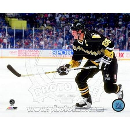 - Mario Lemieux 1990 Action Sports Photo