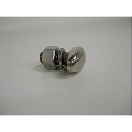 Stainless Steel Oval Bumper Bolt / 1938 39 Chevy Passenger Cars or Universal By United Pacific Ship from (39 Chevy)